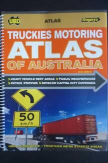 Truckies Motoring Atlas of Australia UBD/Gregorys - 2nd Edition