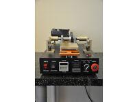 Manual Mobile Phone OCA Glass Film Laminating Machine Built-in Vacuum Pump