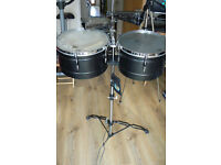 Professional Meinl Timbales and Cowbells