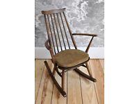 Vintage Retro 60's Style Ercol Goldsmith Rocker Rocking Chair model 435