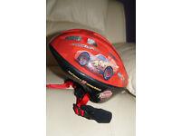 Disney Pixar Cars Lightning McQueen Bike Helmet