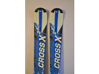 CROSS X2 MEN'S 3-D 2015 CARVING SKIS EXCELLENT XMAS GIFT!