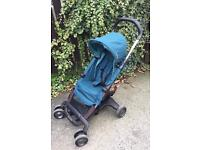 Nuna Pepp Stroller Pushchair with NEW Emerald seat cover, used as spare by Grandparents, can deliver