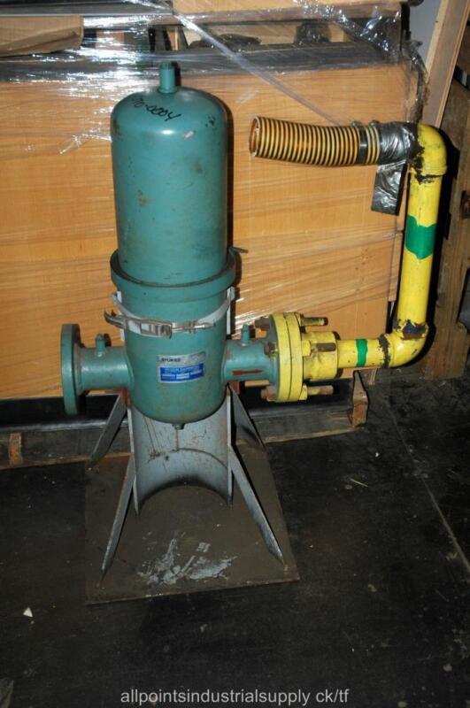 Stokes 212J Vacuum Pump Inline Intake Filter Housing 4 Flange 900333034 333-165A