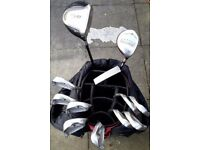 PING ZING irons, putter, TAYLOR MADE woods, PING bag, golf trolley & more ..... cost over £1200 !!