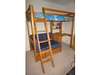Wooden bunk bed GREAT CONDITION