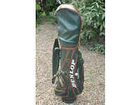 Wilson X-31 Golf Iron Set inc. Woods, Putter & Dunlop MaxFli Golf Bag