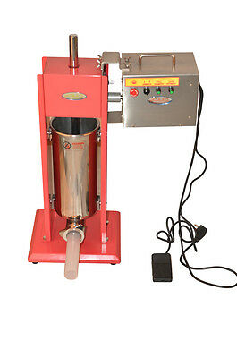 Hakka 7l9-15lb Commercial Electric Sausage Stuffer Stainles Steel Machinemotor