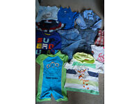 Baby boy clothes size 9-12 months