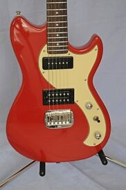 G&L Fallout in Fullerton Red including gig bag - all in mint condition
