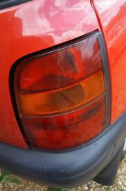 Rear Light Cluster Nissan Micra 1995 Drivers side