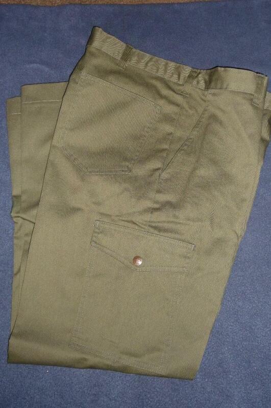 NEW Boy Scout BSA Uniform Pants ~ NWOT Mens Size 34 W34 Olive Green