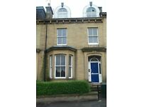 Two bedroom, second floor flat available to rent in Bradford BD8. No bond required!