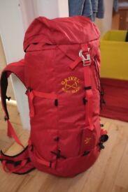 Grivel Zen 40L Rucksack - Climbing/Mountaineering/Walking/Skiing - barely used