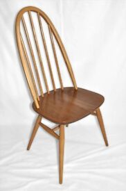 Vintage Retro 60's Ercol Windsor Quaker Chair - 12 Chairs Available - As New - Fully Renovated
