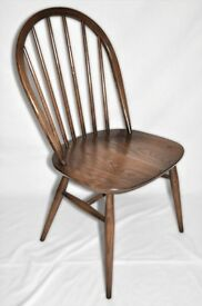 Vintage Retro 60's style Ercol Windsor Chair (model 1877) Golden Dawn