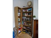 3x oak style Bookcases (can separate)