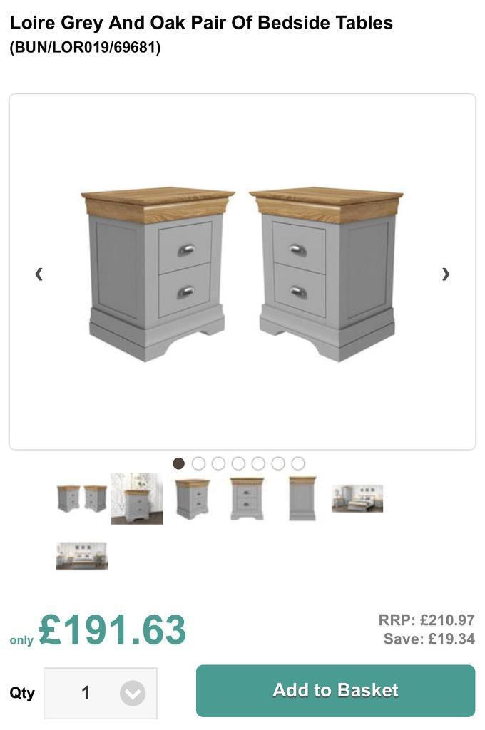 Two gorgeous bedside units