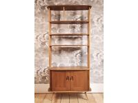 Vintage Retro 60's ercol Windsor Giraffe Bookcase / Room Divider model 363