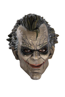 tman Clown The Dark Knight Rises Joker Maske Kostüm Zubehör (Batman-joker Clown Maske)