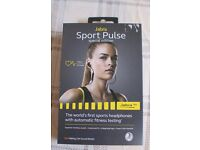 Jabra Sport Pulse Special Edition Wireless Bluetooth Earbuds with Built-In Heart Rate Monitor
