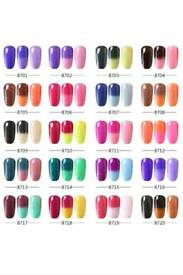 Elite99 Cheese Effect Thermal Colour Gel Nail Polish UV LED