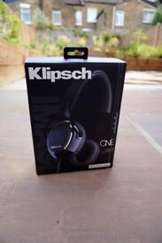 Klipsch Image One On-Ear Headphones with 3-Button Mic for iPhone/iPod - Leather