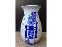 "Rob Ryan ""PLEASE SMELL US"" Vase"