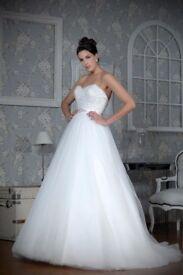 Designer Wedding Dress Brand New With Tags