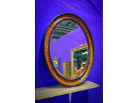 30s Oval Mirror