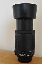 NIKON DX 55 - 200 mm VR LENS