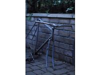 Vintage Raleigh frame & parts - horizontal dropouts