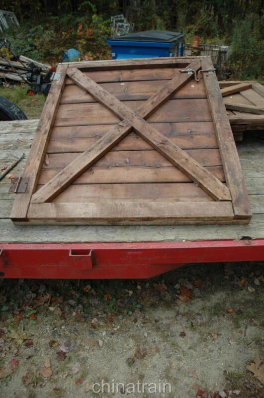 "Vintage Antique Horse Barn Stall Door 44-47""W x 57"" H"