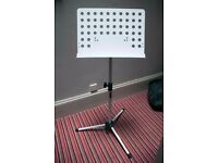 Tiger Orchestral Sheet Music Stand with Height and Angle Adjustment