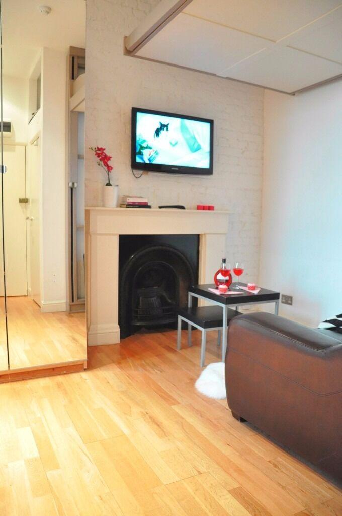 cosy studio flat in Notting Hill BILLS IN!