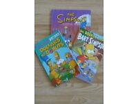 The Simpsons - set of 3 books