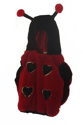 Girls Baby Toddler Infant Lady Bug Halloween Ladybug Costume Antennas Size 2 NEW - Infant Girl Ladybug Halloween Costumes