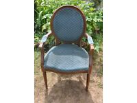 Vintage Shabby Chic Carver Chair
