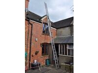 Ladder for 3 or 4 storey house