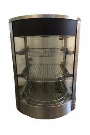 3 Tier Commercial Hot Food Warmer Pie Pizza Display