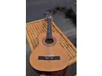 lorenzo guitar 3/4 sized