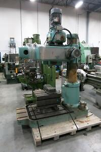 MAS VR2 Radial drilling machine 220V 3PH 14AMP 5HP