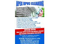 GUTTER CLEANING AND ALL UPVC CLEANING, DRIVEWAY CLEANING AND SEALING SERVICES.