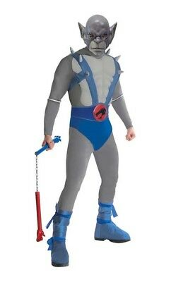 Herren Erwachsene die Thundercats Klassisch Cartoon Deluxe Muskel Brust Panthro