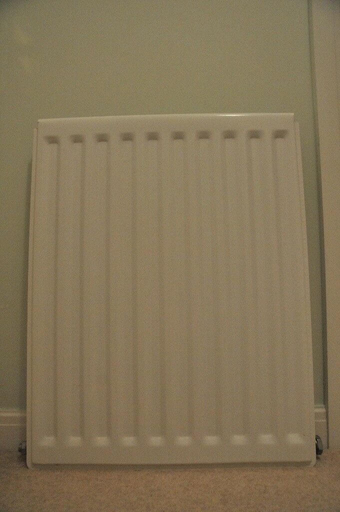 White radiator, good condition, modern