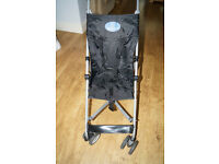 BabyStart 4 Wheeler Pushchair - Black.