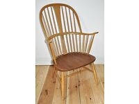 Vintage retro 60's Ercol ercol windsor Chairmakers armchair (model 911)