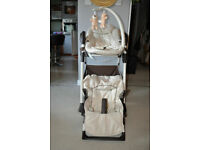 Hauck sit n relax 2 in 1 highchair and baby bouncer