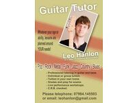 Highly Experienced Guitar and Bass Tutor