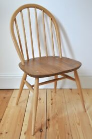 Vintage Retro 60's Ercol Windsor Chair (model 370) - As New - Fully Renovated - 12 Chairs Available